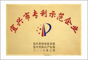 宜兴市专利示范企业