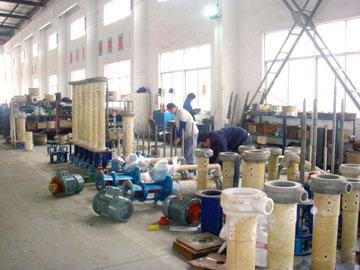 液下泵生产安装场景