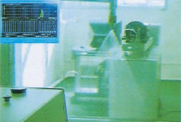 喷嘴雾珠分布情况激光测试系统